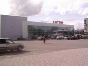 В Запорожской области загорелась крыша «Амстора»
