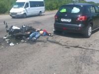 Пассажирка мотоцикла, водитель которого погиб, нуждается в помощи