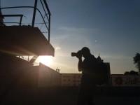 Запорожский фотограф бесплатно снимает портреты людей на Набережной