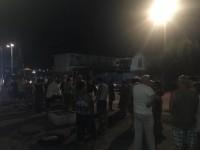 Двое суток без света: около полусотни жителей Бердянска вышли на стихийный митинг
