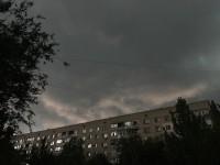 «Апокалипсис какой-то»: над Запорожьем разразилась буря (Фото)