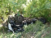 В Запорожской области перевернулся автомобиль с военными – есть погибшие