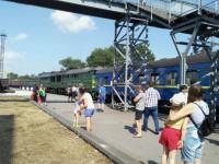 В Запорожской области локомотив врезался в пассажирский поезд – есть пострадавшие
