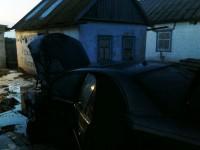 Рано утром в Запорожской области сгорел «Форд»