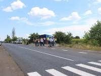 Под Запорожьем отремонтировали 3 километра дороги