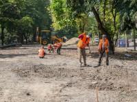 В центре Запорожья замедлилась реконструкция проспекта Маяковского