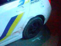 Несовершеннолетняя запорожанка врезалась в авто патрульных и сбила двоих пешеходов (Видео)