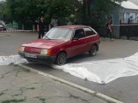 Убийство Олешко: подозреваемые скрылись с места преступления на авто Госгеокадастра