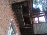 Под жительницей Запорожья обвалился балкон