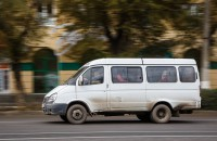 На запорожском курорте полицейские остановили пьяного маршрутчика