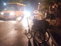 В Бердянске Porsche Cayenne снес мужчину на коляске (Фото)