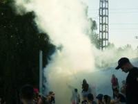 Запорожские фанаты сорвали игру в Кривом Роге, устроив массовую драку
