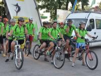 В Запорожье прибудут участники «слепого» велопробега