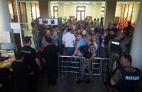 Сторонники парка в Запорожье добились встречи с Буряком (Фото)