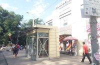 Утром в Запорожье поставили МАФ прямо посреди тротуара (Фото)