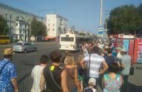 Запорожцы не могут добраться до фестиваля на организованных мэрией автобусах (Фото)