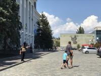 В день похорон Олешко из бердянской мэрии из-за подозрительного пакета эвакуировали сотрудников
