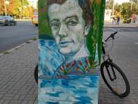 «Я так вижу»: запорожский художник создал слабо узнаваемый портрет Кобзаря (Фото)