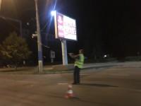 В центре Запорожья троллейбусный провод рухнул на проезжую часть