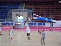 В обновленной «Юности» прошла первая тренировка баскетбольного клуба (Фото)