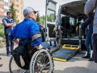 В Запорожской области заработало первое социальное такси для колясочников