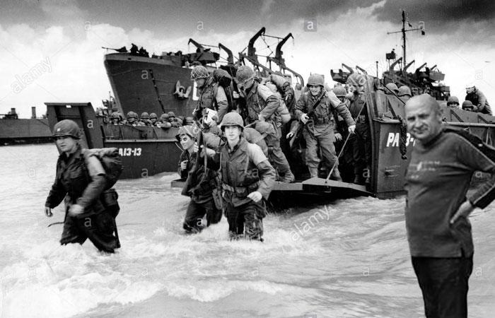 Высадка войск союзников в Нормандии с участием Андрея Ивановича