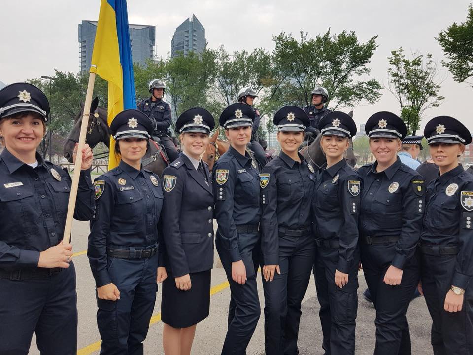 Глава патрульной полиции Запорожья уехала в Канаду (Фото)