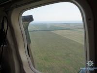 Запорожские полицейские ищут плантации наркотиков на вертолете