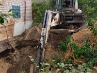 В Запорожской области дачника завалило землей