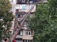 На Бабурке в девятиэтажке горели две квартиры