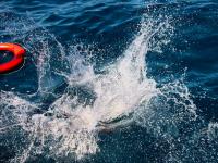 В районе Бердянска с российского судна за борт выпал рыбак