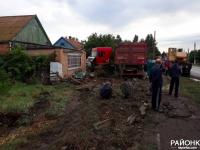 В Пологах из-за фуры пострадали 3 частных дома
