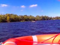 В Запорожье, отмечая получение новых катеров рыбоохраной, утонул полицейский начальник – подробности