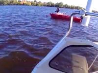 Глава запорожского рыбоохранного патруля обмывал новый катер – есть погибшие (Видео)