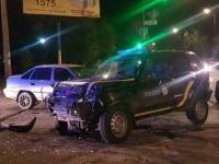 Бердянские полицейские попали в тройное ДТП – есть пострадавшие