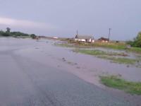 В Мелитопольском районе из-за ливня затопило два села (Фото)