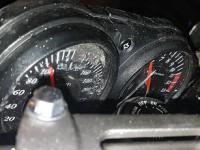 В Бердянске на спидометре разбитого в ДТП мотоцикла стрелка застряла на отметке 110 км/ч
