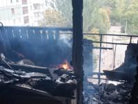 Пожар в девятиэтажке на Бабурке тушили несколько десятков спасателей – подробности