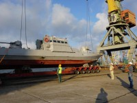 Акваторию Бердянска охраняют новые бронекатеры ВМСУ (Фото)