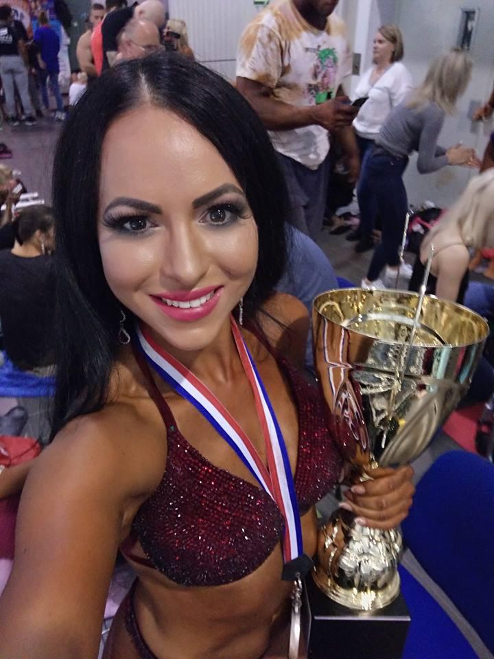 Культуристка из Запорожской области заняла высокое место на международном турнире