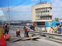 Дорогу на плотине ДнепроГЭС перекроют на несколько месяцев