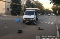В Запорожской области мопед врезался в грузовик: есть погибший (Фото)