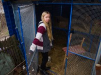 «Мы были вместе год»: запорожская зоозащитница выпустила на свободу лису (Видео)
