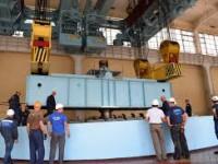 На ДнепроГЭС впервые за 70 лет меняют оборудование