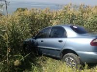 В запорожском селе авто вылетело за пределы дороги