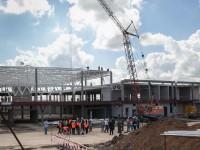 Новый пассажирский терминал запорожского аэропорта готов на 40%: как он выглядит сейчас (Фото)