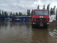 В Бердянске из-за непогоды без света остались более 3 тысяч домов