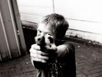 Школьник угрожал другим детям пистолетом