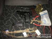 На блокпосту задержали вооруженных преступников, ограбивших ювелирный магазин (Фото)