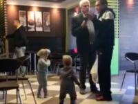 Запорожский депутат устроил в кафе скандал из-за ребенка, мешавшего ему общаться с партнерами (Видео)